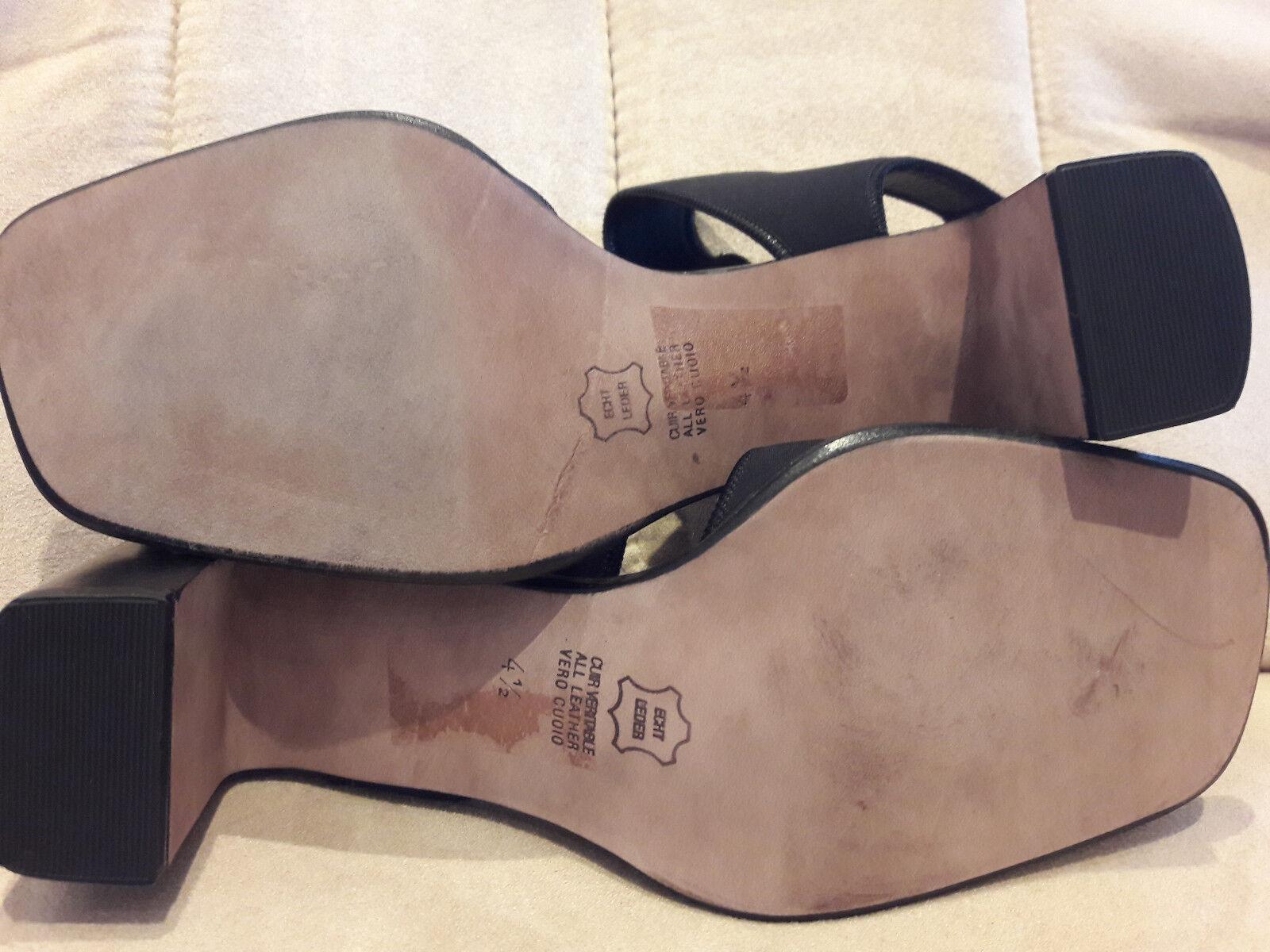 K+S, Kennel + Schmenger Sandaleette Damen, NEU, schwarz, 4 1/2, im Originalkarton