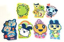 Japan Import NEW 2007 BANDAI TAMAGOTCHI SET OF 7 STICKER