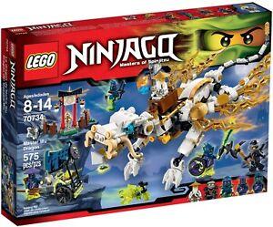 Lego® Ninjago® 70734 Fantômes du dragon de Maître Wu Nouvelle série Ovp 70599 70748 70738