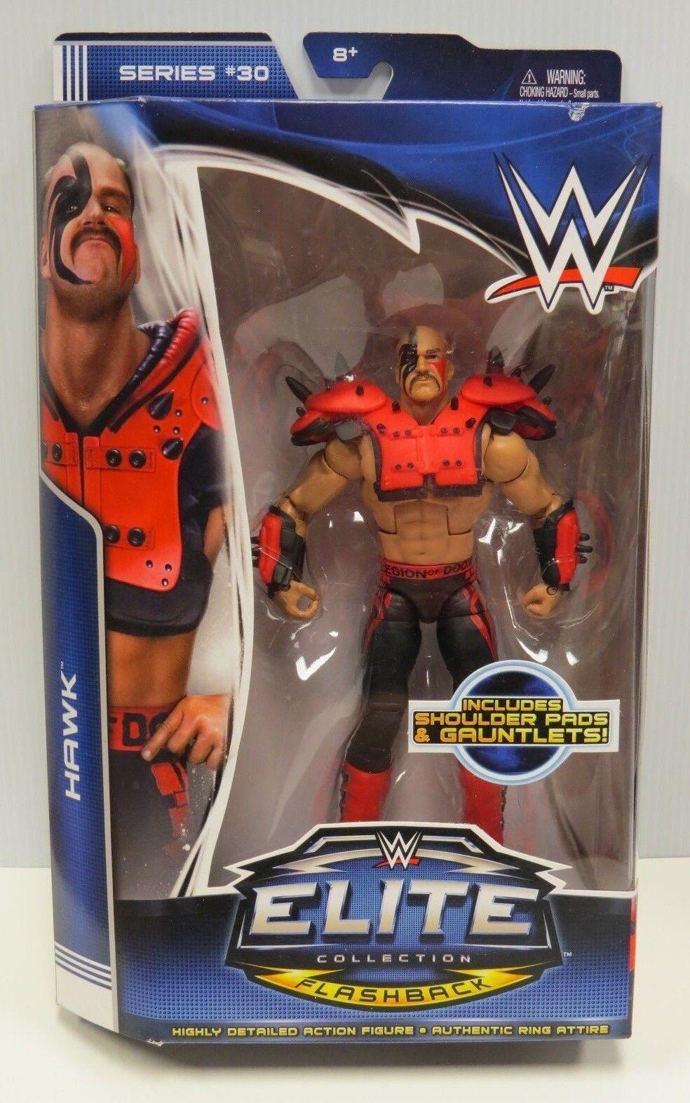 HAWK WWE ELITE COLLECTION ACTION FIGURE SEALED SERIES 30 LEGION OF DOOM