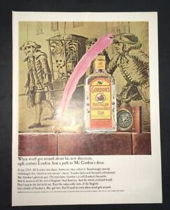 Gordons Credit Card >> Details About Life Magazine Ad Gordon S Distilled London Dry Gin 1965 Ad A2