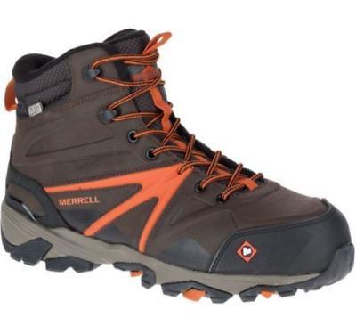 Merrell Men/'s J15727 Trailwork Mid  Composite Toe Waterproof Safety Work Boots