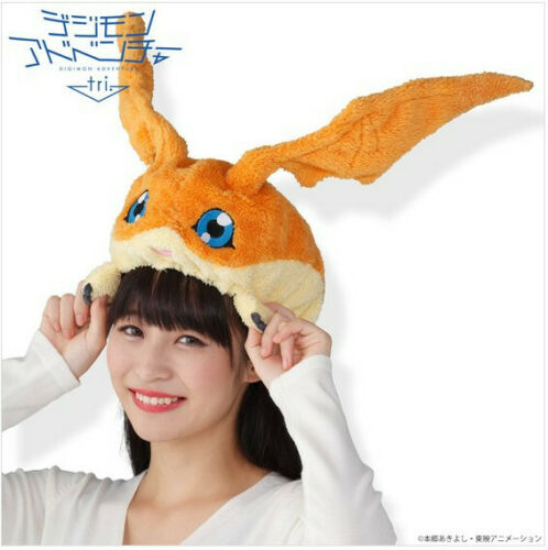Digimon Adventure Tri Patamon Hat Official Premium Bandai Merchandise Moko Cap