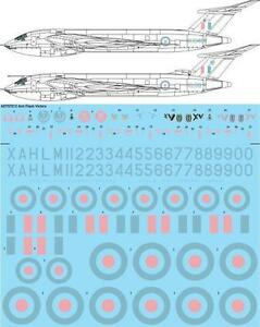 26Decals 1/72 Handley Page Victor Decals -  Anti-Flash White Colour Markings