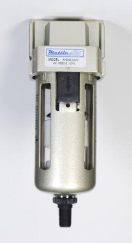 """Filtro de aire de drenaje automática 3//8/"""" Npt Puertos 1500 L//MIN trampa de humedad MettleAir"""