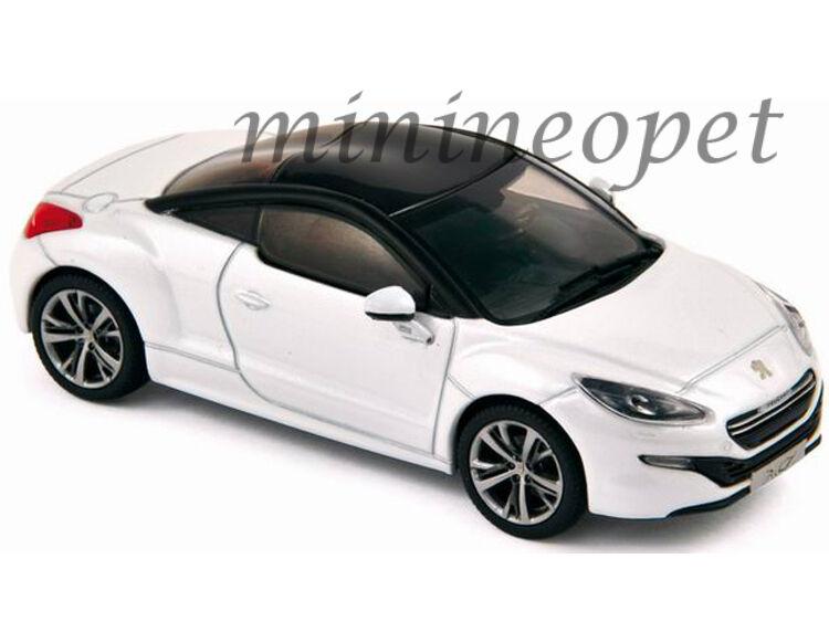 NOREV  184782 2012 12 PEUGEOT RCZ CONCEPT 1 18 DIECAST blanc  à vendre en ligne