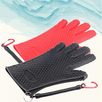 Fish Catching Glove Anti-slip Waterproof Pe Nylon Fishing Gloves Anti-cut Bite