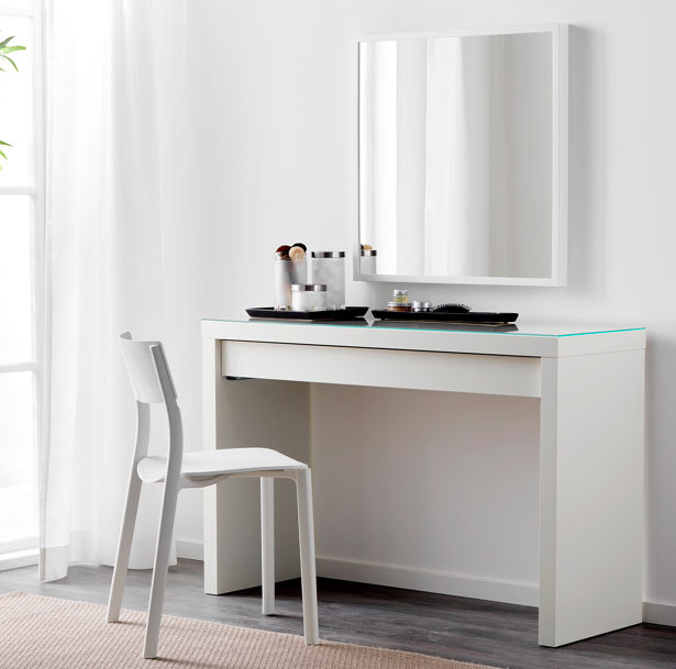 Ikea Malm Dressing Table Desk in N7