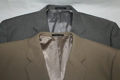 Lot Of 2 Austin Reed Men S 52 Ps Wool Blend 2b W Metal Buttons Sport Coat Ebay