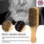 100-BOAR-REINFORCED-BRISTLE-HARD-amp-SOFT-BEARD-BRUSH-FOR-HAIR-amp-GROOMING-MEDIUM miniatura 1
