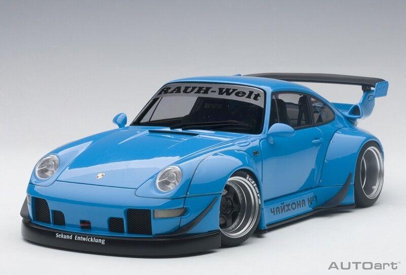 60% de descuento Autoart 78152 - 1 18 Porsche 993 RWB-azul Gun gris gris gris Wheels-nuevo  ordenar ahora