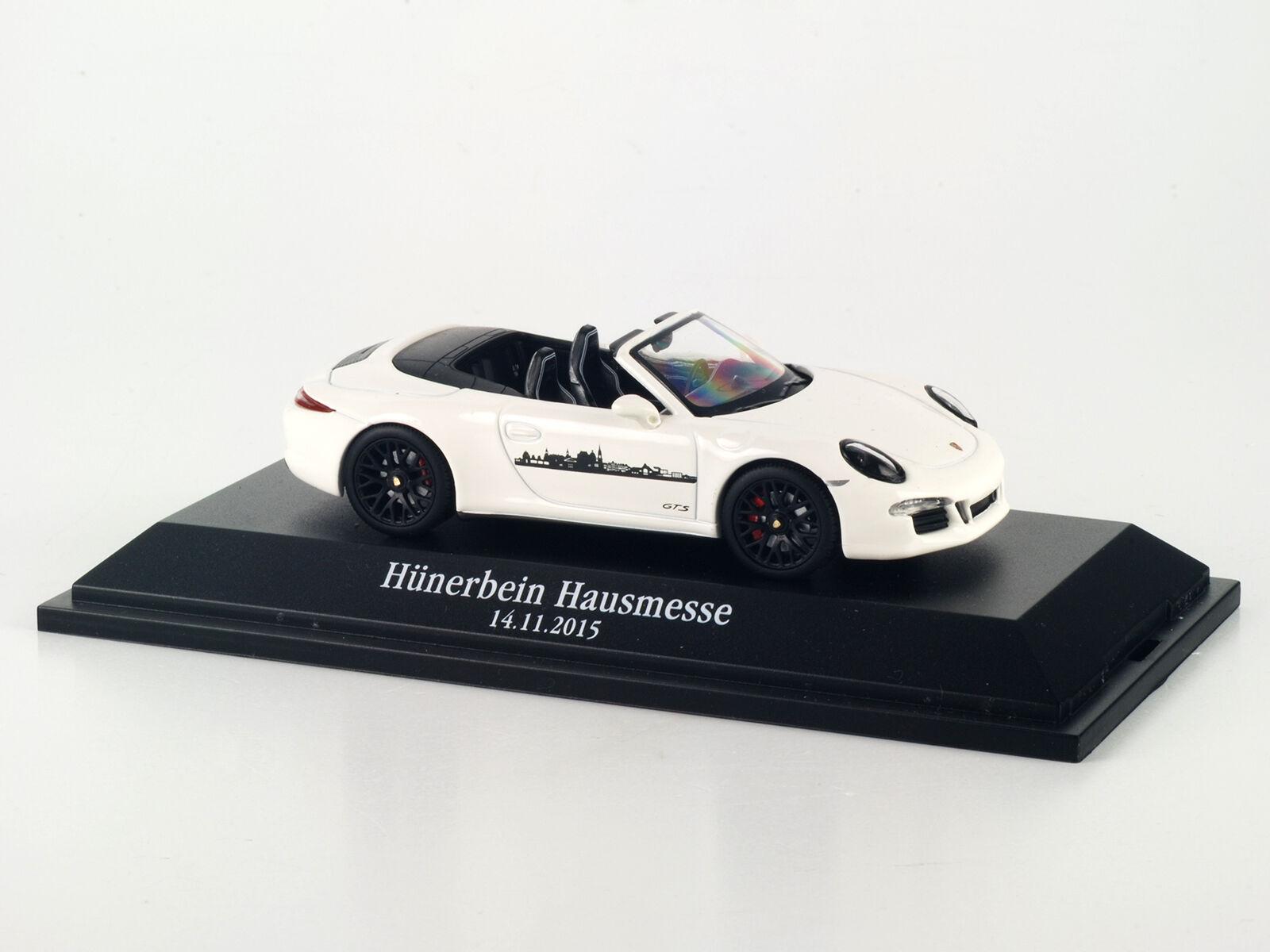 Schuco 450757601 Porsche 911 GTS Hünerbein Hausmesse 2015 2015 2015 limi 50Stk 1 43 NEU+OV 631ff4