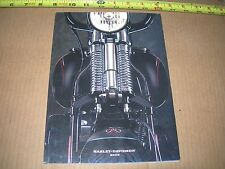 HARLEY DAVIDSON 2009 SPRINGER SOFTAIL HERITAGE etc. FACTORY DEALER BROCHURE  -