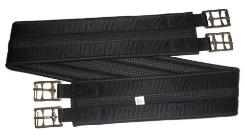 Horse Girth Anti Gall Double Buckle~All Sizes~ Black Or White~ Australian Made