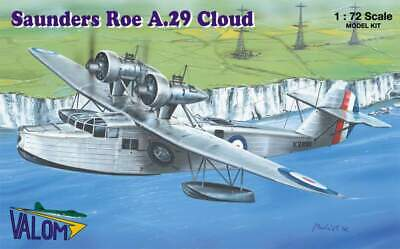 Valom Models 1//72 SAUNDERS ROE A.29 CLOUD Flying Boat