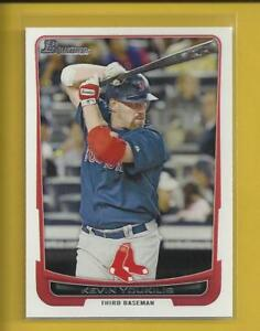 Kevin-Youkilis-2012-Bowman-Card-187-Boston-Red-Sox-Baseball-MLB