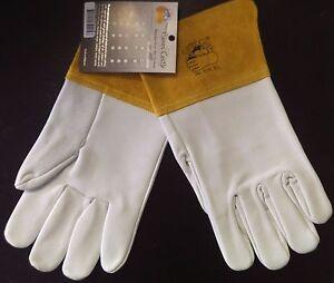 S//M//L//XL-4 pairs GLOVES CASTLE W-108 Premium Grade TIG Welding Gloves