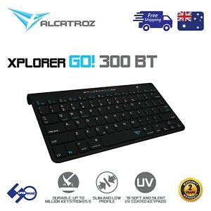 Bluetooth-Wireless-Office-Keyboard-Silent-Durable-for-Mobile-TV-ALCATROZ-BT300