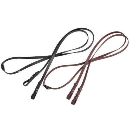 Tekna Snaffle Reins with Buckle Ends
