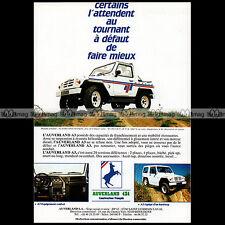 ★ AUVERLAND A3 1989 ★ Pub AUTO 4X4 Publicité Off-Road Advert #A94