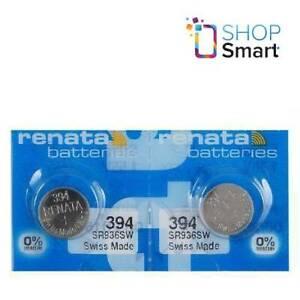 2-Renata-394-sr936sw-Batterien-silber-1-55v-Watch-Swiss-Made-EXP-2021-NEU