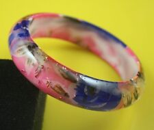 "54g-24 Dia.2.65"" Colorful Resin/Lucite Bracelet Bangle Jewelry 1 piece lhf130907"