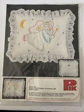 DMC PIK Stitchery Tooth Fairy Pillow Kit Vintage NEW ( Item # 704)