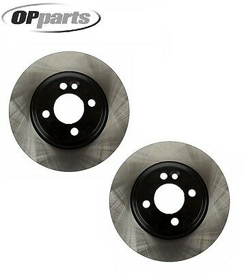 For Mini Cooper R50 Not Drilled; 276 x 22 Set of 2 Front Disc Brake Rotors