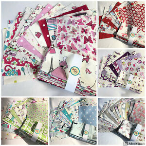 BABY CLOTHES vintage style 100/% COTTON FABRIC for dress craft patchwork bunting