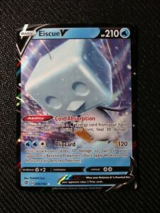Pokemon Card Eiscue V 055//192 Rebel Clash NM//M