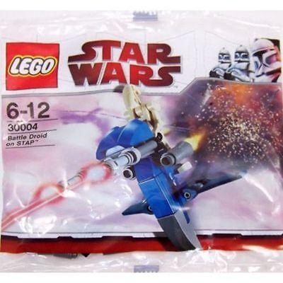 Lego Star Wars Battle Droid On STAP Kit #30004 Brand New Sealed Poly Bag Set