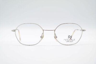 Modesto Vintage Nouvelle Vague Duncan 50 [] 20 Argento 134 Marrone Ovale Occhiali Nos- Il Consumo Regolare Di Tè Migliora La Salute