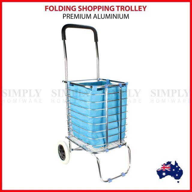Shopping Cart Carts Trolley Aluminium Foldable