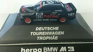"""Herpa BMW M 3 Tourenwagen """"Herpa"""" in PC-Vitrine mit OVP & Sammelkarte - Deutschland - Herpa BMW M 3 Tourenwagen """"Herpa"""" in PC-Vitrine mit OVP & Sammelkarte - Deutschland"""