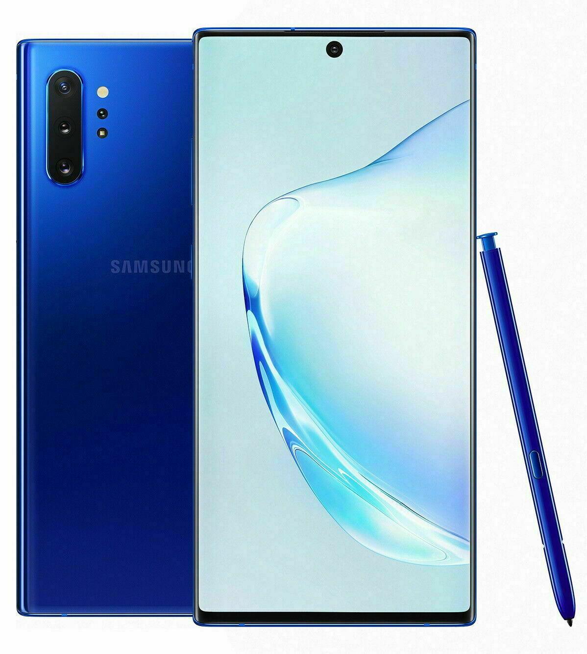 NEW Samsung Galaxy NOTE 10+ Plus 256/512GB (SM-N975U1, Factory Unlocked)⚫⚪🔵🟣SW. Buy it now for 659.99