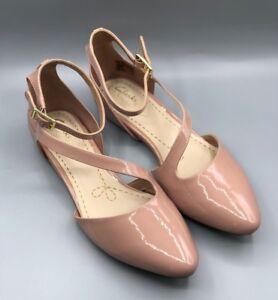Fizz charol Uk coral D 5 de Pink 5 Nuevos color color Clarks Dusty para rosa mujer zapatos en 1wSaz7Tq
