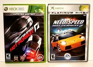 Need For Speed 2 Xbox Hot Pursuit Xbox 360 Video Game Bundle