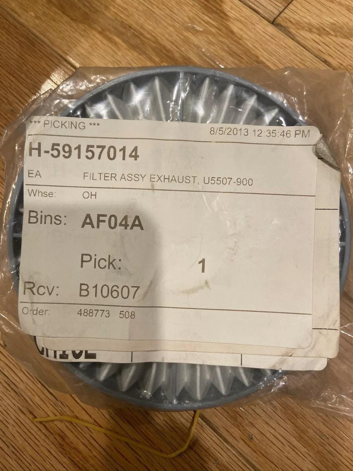 Hoover HEPA Exhaust Vacuum Filter #59157014
