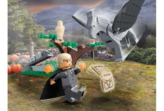 Genuine Harry Potter Lego Set 4750  Draco's Encounter with Buckbeak  Brand New