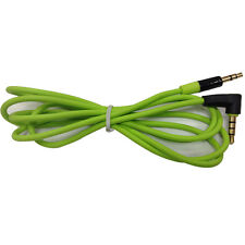 Hot Replacement Green 3.5mm Audio AUX Cable Cord for BEATS STUDIO SOLO PRO