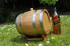 In legno 5 L LITRI ROVERE Barrel acquavite di vino, whisky, BOURBON express 24h Giorno Successivo