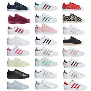 Adidas Original Superstar Damen-Turnschuhe Chaussures de Sport Baskets Neuf