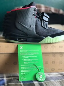 556b615842359 Image is loading Nike-Air-Yeezy-2-Solar-Red-STOCK-X-