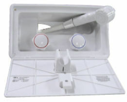 Boat Marine RV Camper Motorhome Exterior Outside Outdoor HAND HELD SHOWER WHITE