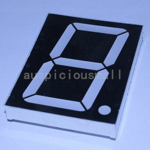 1pcs 4 inch 7segment RED LED display common anode 9V