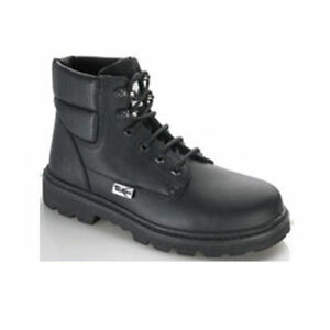 Leather Safety Size Boot Tuskers 6 Black Boot Aquagrip 381 CEBw4qt4