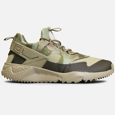 Nike Mens Air Hurache Utility desert camo/olive size 8