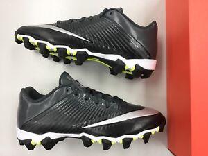 375360cad9e Brand New Nike Vapor Shark 2 Football Cleats shoes Men Boys Black ...