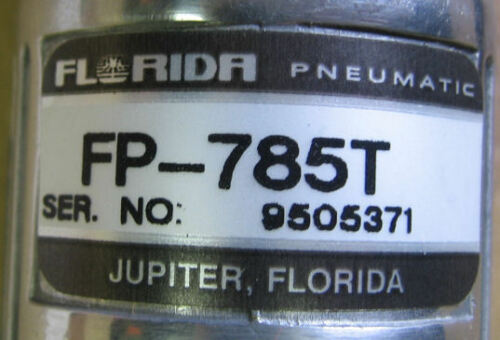 "Florida Pneumatic Air 1//4/"" Straight Drill FP-785T"