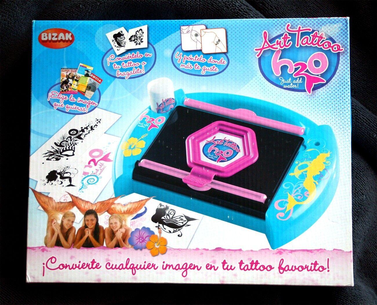 H2O ART TATTOO (SALÓN TATUAJES, NO MUÑECA, SIRENA TV SHOW). BRAND NEW IN BOX OS